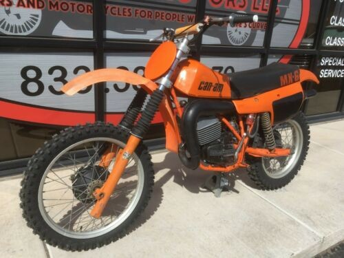 1980 Can-Am MX6 250 Orange for sale craigslist