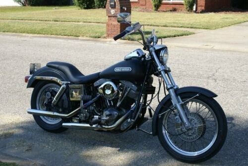 1980 Harley-Davidson Dyna Black for sale craigslist