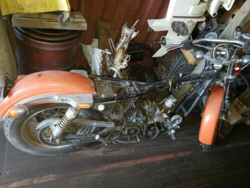 1980 Harley-Davidson Sportster Orange for sale craigslist