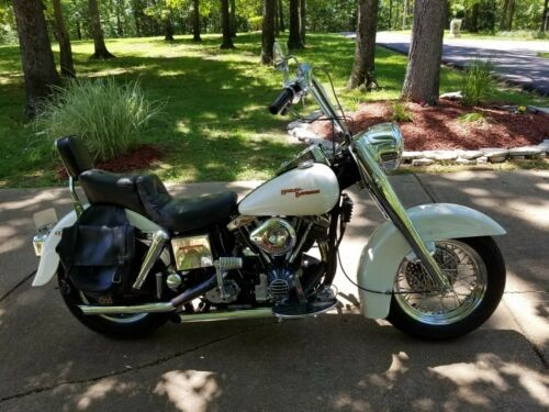 1980 Harley-Davidson Touring White for sale craigslist