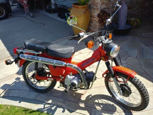 1980 Honda CT TAHITIAN RED for sale