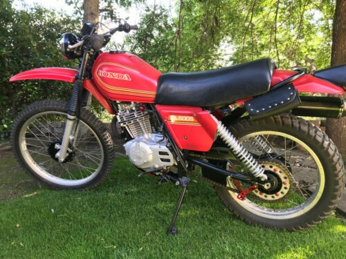 1980 Honda Other red,black frame,silver wheels for sale craigslist