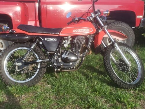1980 Suzuki Sp400 Red for sale