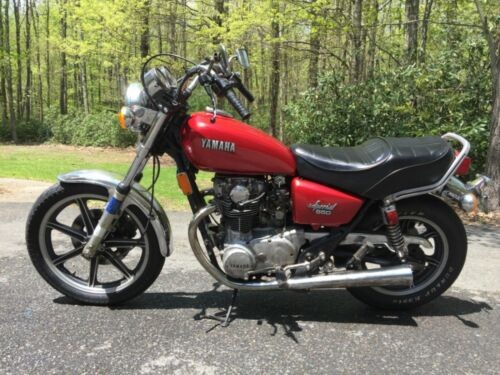 1980 Yamaha 650 Special Red for sale craigslist