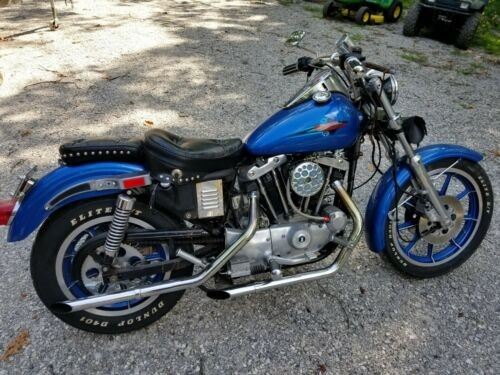 1981 Harley-Davidson Sportster Blue for sale