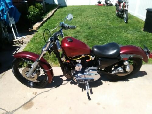 1981 Harley-Davidson Sportster Burgundy for sale