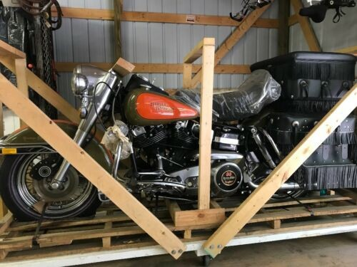 1981 Harley-Davidson Touring Green and orange for sale