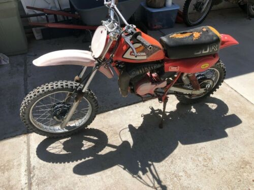 1981 Honda CR Red for sale craigslist