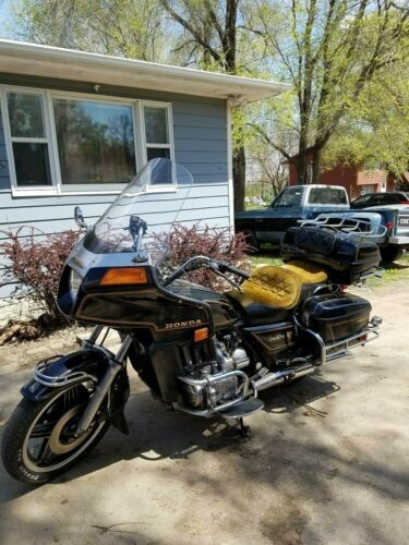 1981 Honda Goldwing Black/Blue craigslist