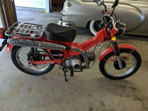 1981 Honda Trail 110 Red for sale