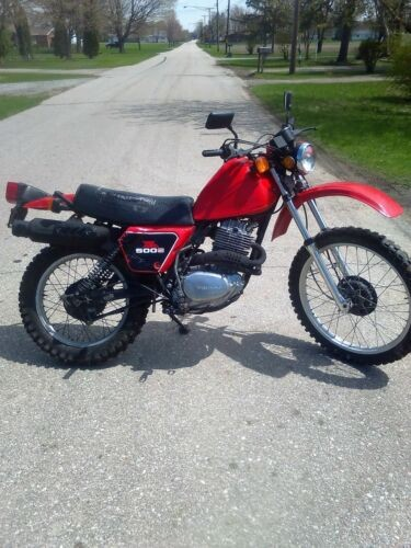 1981 Honda XL Red for sale craigslist