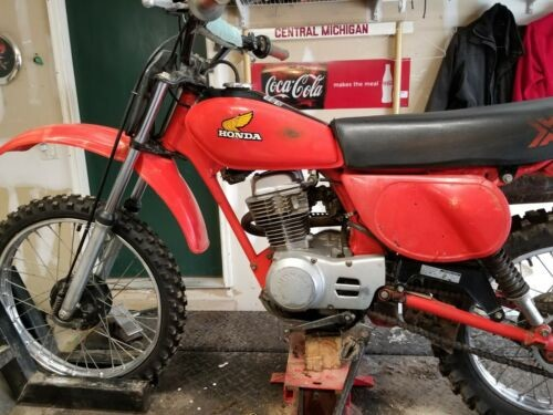 1981 Honda XR Red for sale craigslist