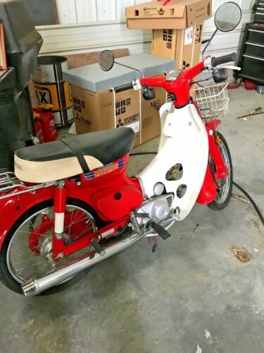 1981 Honda c70 Red for sale