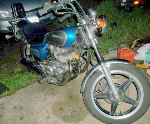 1981 Honda cm400t Blue for sale craigslist