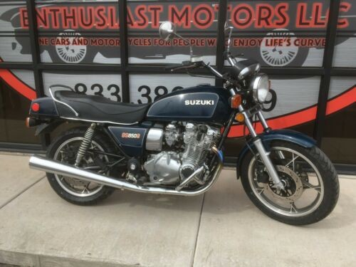 1981 Suzuki GS Blue for sale craigslist