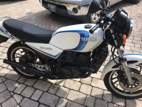 1981 Yamaha RD350LC White for sale craigslist