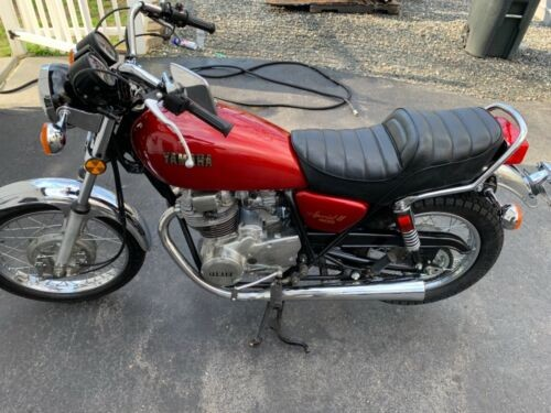 1981 Yamaha XS Red for sale craigslist