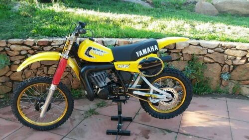 1981 Yamaha YZ Yellow for sale