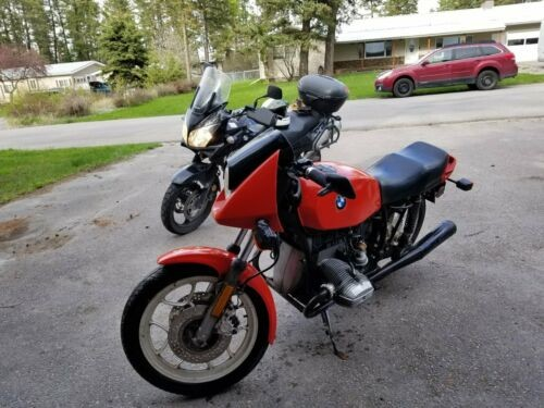 1982 BMW R-Series orange for sale craigslist