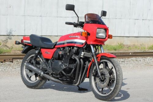 1982 Kawasaki GPz1100B2 Red for sale craigslist
