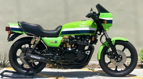 1982 Kawasaki KZ 1000 ELR Tribute Green for sale