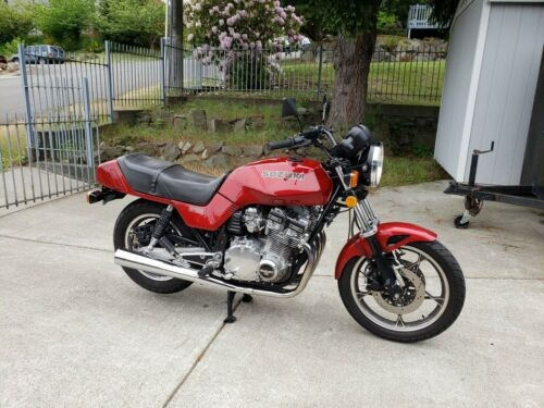 1982 Suzuki GS Red for sale