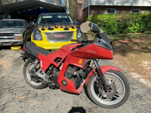 1982 Yamaha TURBO 650 Red craigslist