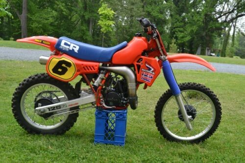 1983 Honda CR Red for sale
