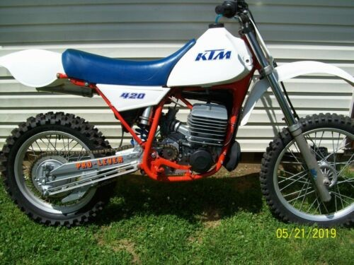 1983 KTM KTM 420 White for sale
