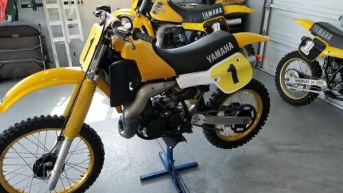 1983 Yamaha YZ Yellow for sale