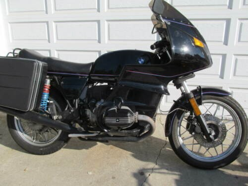 1984 BMW R-Series Black for sale craigslist