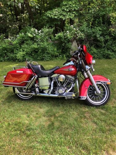 1984 Harley-Davidson Touring Candy Apple Red for sale craigslist