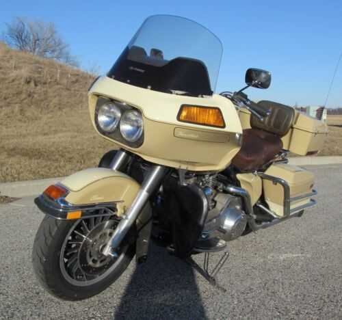 1984 Harley-Davidson Touring Tan for sale craigslist