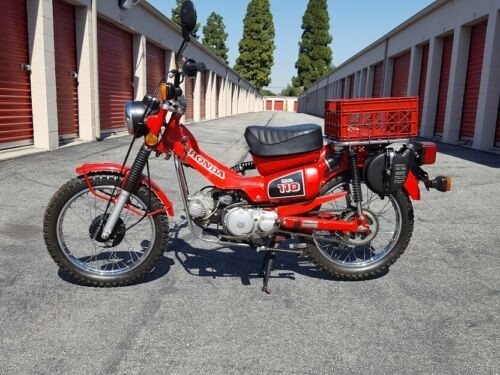 1984 Honda CT Monza Red for sale