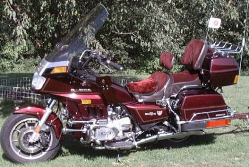 1984 Honda Gold Wing Burgundy craigslist