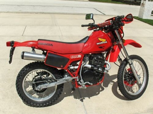 1984 Honda XL600R Red craigslist