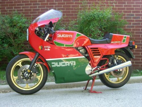 1985 Ducati Mike Hailwood Red and Green craigslist