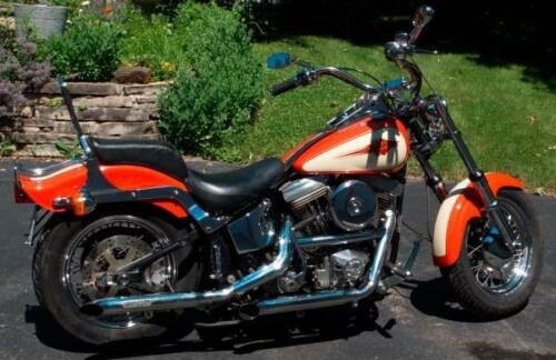 1985 Harley-Davidson Softail Orange craigslist