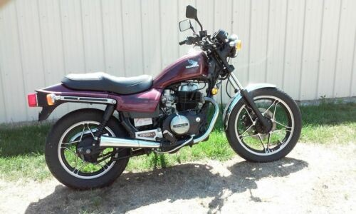 1985 Honda CB Burgundy for sale craigslist