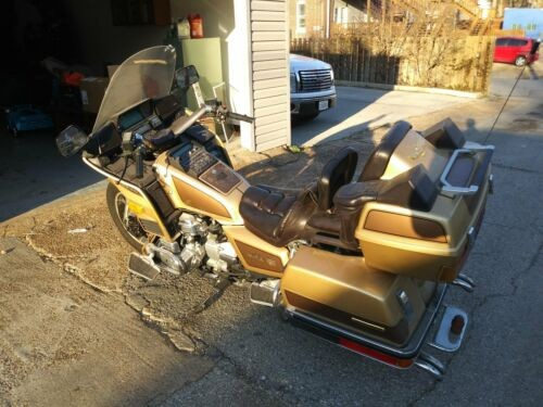1985 Honda Gold Wing Gold for sale