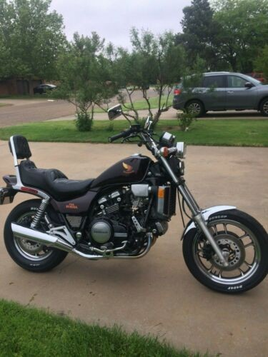 1985 Honda Magna Burgundy for sale craigslist