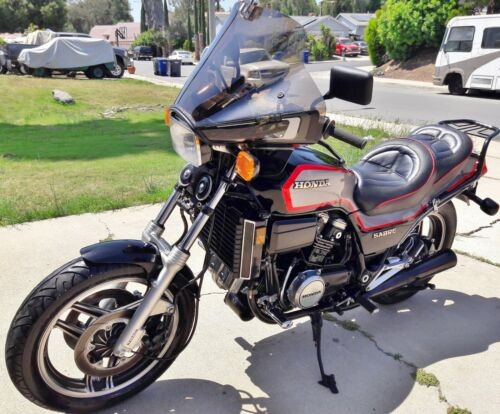 1985 Honda VF700S Sabre Black, Silver, Red for sale