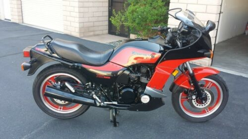 1985 Kawasaki GPZ750 TURBO Red craigslist