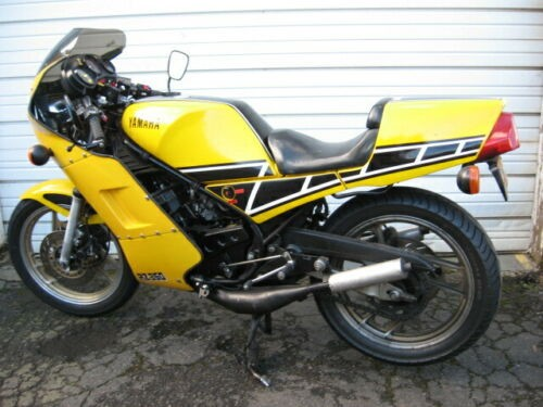 1985 Yamaha RZ LC 350 Yellow/Black for sale craigslist