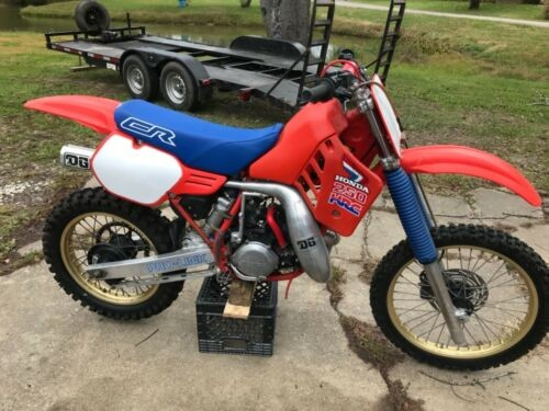 1986 Honda CR Red for sale craigslist