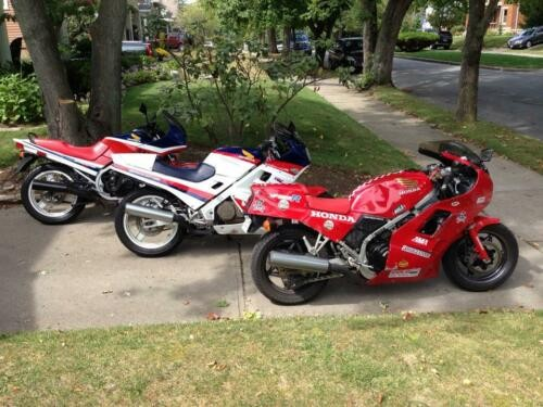 1986 Honda Interceptor Red, White, and Blue craigslist