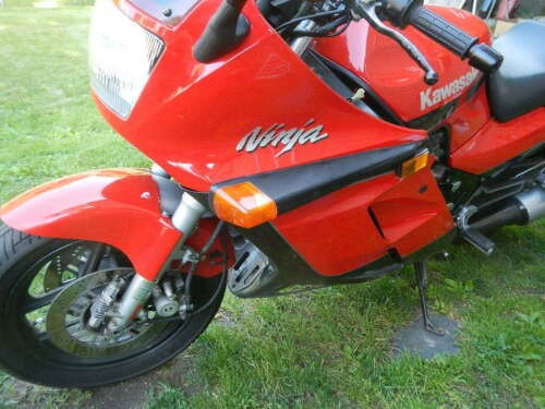 1986 Kawasaki Ninja Red for sale craigslist