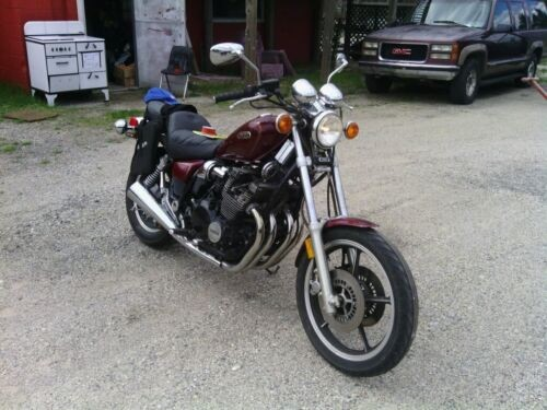 1986 Yamaha XJ700 Burgundy for sale craigslist