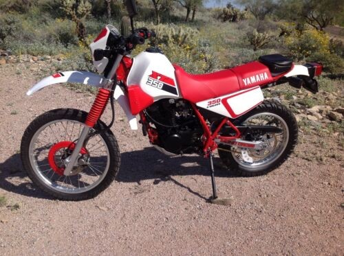 1986 Yamaha XT 350 Red for sale