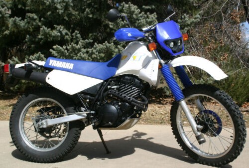 1986 Yamaha XT 350 White for sale craigslist